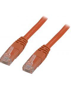 DELTACO U/UTP Cat5e patchkabel 3m, orange