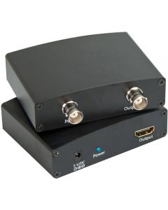 Signalomvandlare från SDI till HDMI, BNC, SDI Loop Out, svart