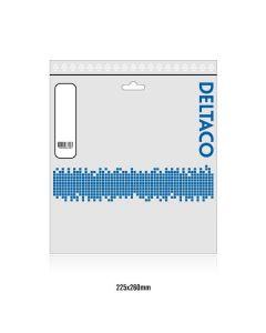 DELTACO U/FTP Cat6a patchkabel, LSZH, 5m, svart