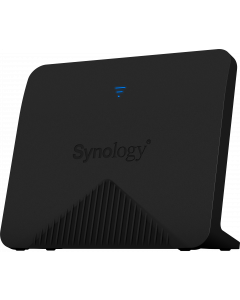 Synology Mesh Router, Gigabit, Tri-Band, 2x2 MIMO, USB, svart