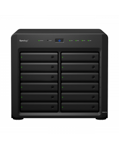 Synology DiskStation DS2419+ skalbar 12-bay NAS, Quad core CPU, 4 GB R
