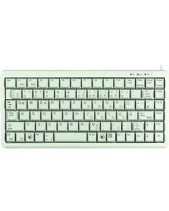 CHERRY Compact-keyboard, Nordisk layout, USB, 1,75m, grå/beige