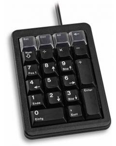 Cherry numeriskt tangentbord, 21 tangenter, PS/2, svart