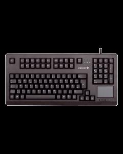 Cherry G80-11900, Mekaniska MX brytare, nordisk layout, USB, svart