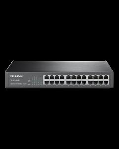 TP-Link TL-SF1024D, 24xRJ45, 10/100Mbps, desktop, svart