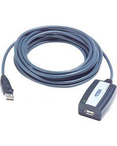 ATEN aktiv USB 2.0 förlängningskabel, 5m