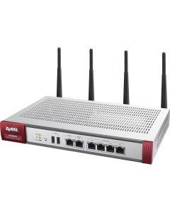 ZyXEL USG 60W Firewall Appl. 10/100/1000,4xLAN/DMZ,2xWAN,802.11a/b/g/n