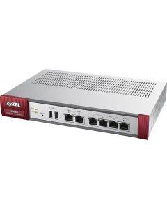ZyXEL USG-60 Firewall 10/100/1000, 4x LAN/DMZ, 2x WAN, UTM Bundle 1 YR