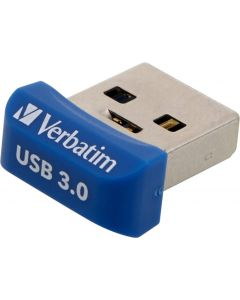Verbatim StoreNStay Nano U3, USB3.0 minne, 16GB, blå
