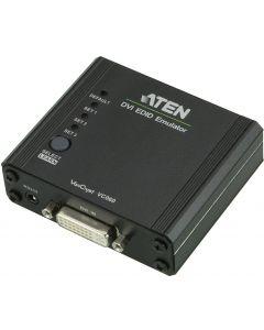 ATEN DVI EDID Emulator,DVI-I ho, RS-232, 3D, HDCP, svart