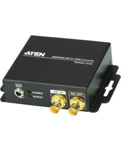 ATEN 3G/HD/SD-SDI till HDMI omvandlare, svart