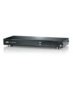 ATEN 4x4 4K HDMI Matrix Switch, 19-pin, Dolby True HD och DTS HD,svart