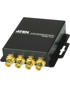 ATEN SDI-splitter, 1in 6ut,förlänger SDI/HD-SDI/3G-SDI 300m,BNC, sva