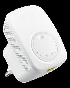 Zyxel WRE6505 v2 Trådlös AC750 Range Extender, 802.11ac, dualband,vit