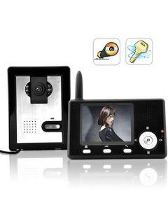 Trådlös videoporttelefon med fjärrlåsstyrning