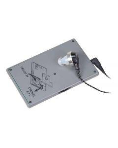 Diskret ljudmottagare i kreditkortsformat, 3 kanaler, SNB-100R