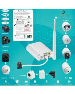 Dold 3G Kamera, P2P, Mobilapp, ONVIF, 720p HD