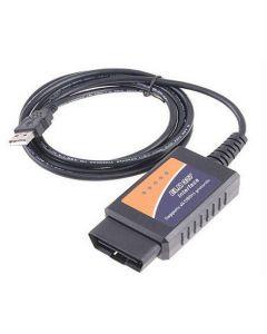 Elm 327 USB Felkodsläsare, OBD, OBD2