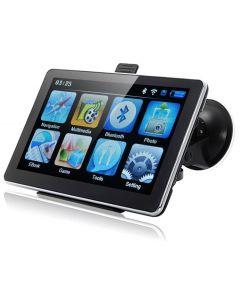 GPS navigator med 7tums skärm, bluetooth och fm-sändare