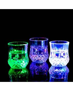 Glas med LED-ljus