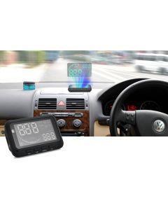 Head up display som ger säkrare körning