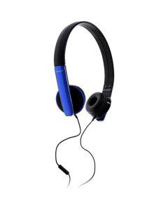 Headset för smartphones, 3.5mm, mikrofon & svarsknapp, 1.2m