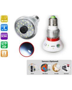 Kameralampa med wifi och mörkerseende, belysning