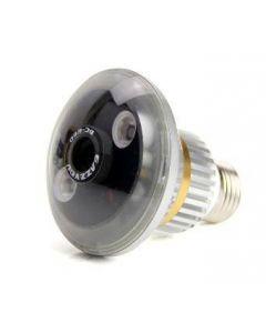 Lampa med dold kamera, rörelseaktivering och mörkersyn, alltid på