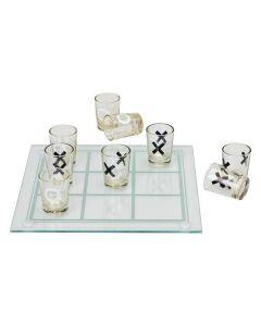 Luffarschack med shotglas