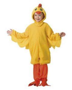 Maskeraddräkt Barn Kyckling Stl. 110-116
