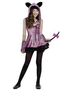 Maskeraddräkt Leopard Girl