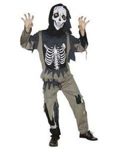 Maskeraddräkt Zombie Kid Stl 110-116