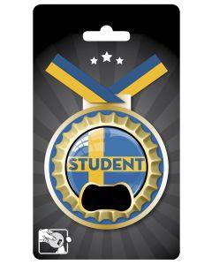 Medalj/kapsylöppnare student