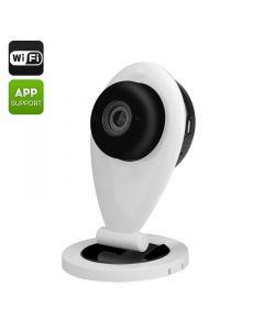 Mini IP-kamera, Wi-FI, 720p, smartphone, tvåvägs kommunikation