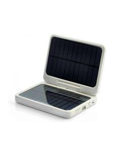 Portabelt USB-batteri med solcellsladdning