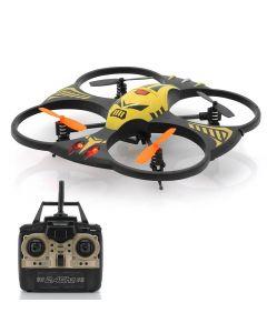Radiostyrd quadcopter med 100 meter räckvidd