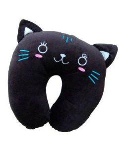 Resekudde, svart katt