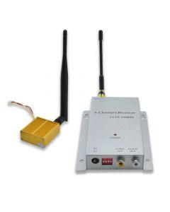Signalförstärkare, gör övervakningskameran trådlös, 500m