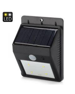 Solcellsdriven LED trädgårdslampa med rörelsesensor