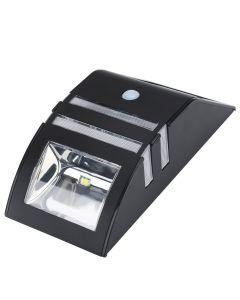 Solcellsdriven LED trådgårdslampa med rörelsesensor