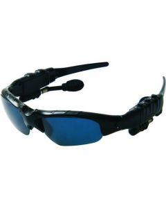Solglasögon med 4gb mp3spelare och bluetooth handsfree