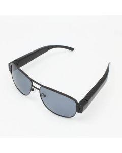 Spionglasögon med solglas, 720p 30 fps, ljudupptagning