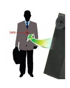 Spionkamera i dold knapp, knapphålskamera