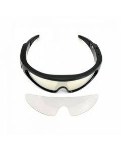 Sportiga spionglasögon 720p + 4GB inbyggt minne