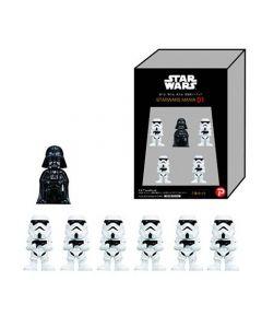 Star Wars-figurer, Darth Vader och Stormtroopers