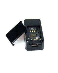 Superliten spårsändare/GPS-tracker med mikrofon för avlyssning