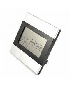 Multifunktionell LCD Bordsklocka