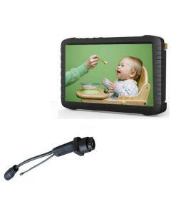 Trådlöst dolt övervakningssystem med motion detection & trådlös skärm