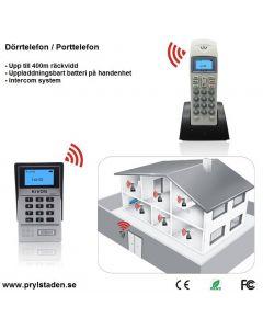 Trådlöst inpasseringssystem med tvåvägskommunikation, KDB 201