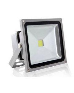 Ultratunn LED-strålkastare 50W kallvitt/varmvitt